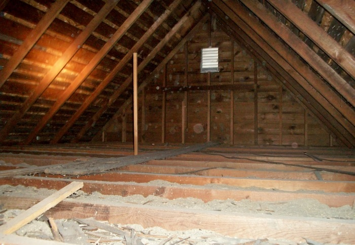 attic cleaning San Diego